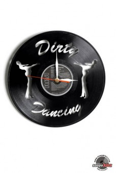 dirty dancing vinyl wall clock