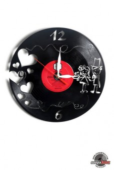 love vinyl wall clock
