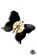 butterfly vinyl wall clock