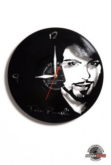 tose vinyl wall clock