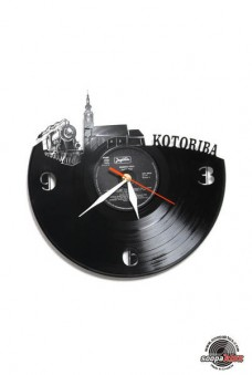 kotoriba vinyl wall clock