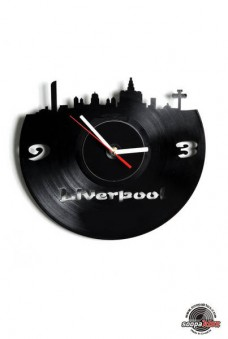 liverpool vinyl wall clock