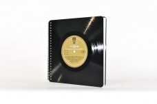 Square vinyl notebook, skrachbook